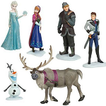 Frozen Inspired 6 Piece Action Figures Set - $18 with FREE Shipping!