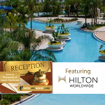 Hotel & Resort Card Featuring Hilton Worldwide- $40 buys $1000 in discounts!